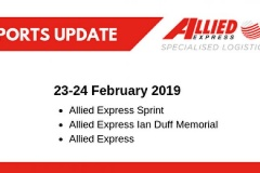 Allied Express Sports Update 23 February 2019